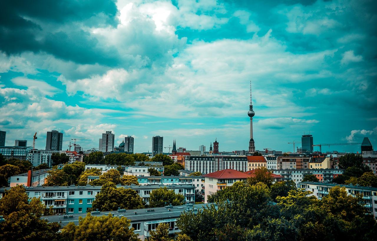 Skyline der Stadt Berlin